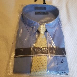 Nautica dress shirt size 18